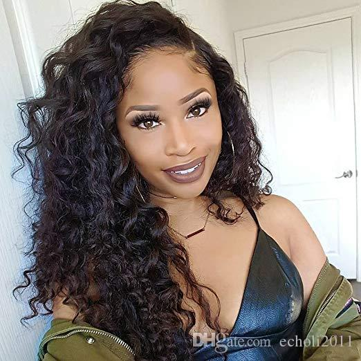 360 Lace Frontal wig 150% Density Brazilian Virgin loose Wave lace front Human Hair Wigs For Black Women With Baby Hair 16 inch