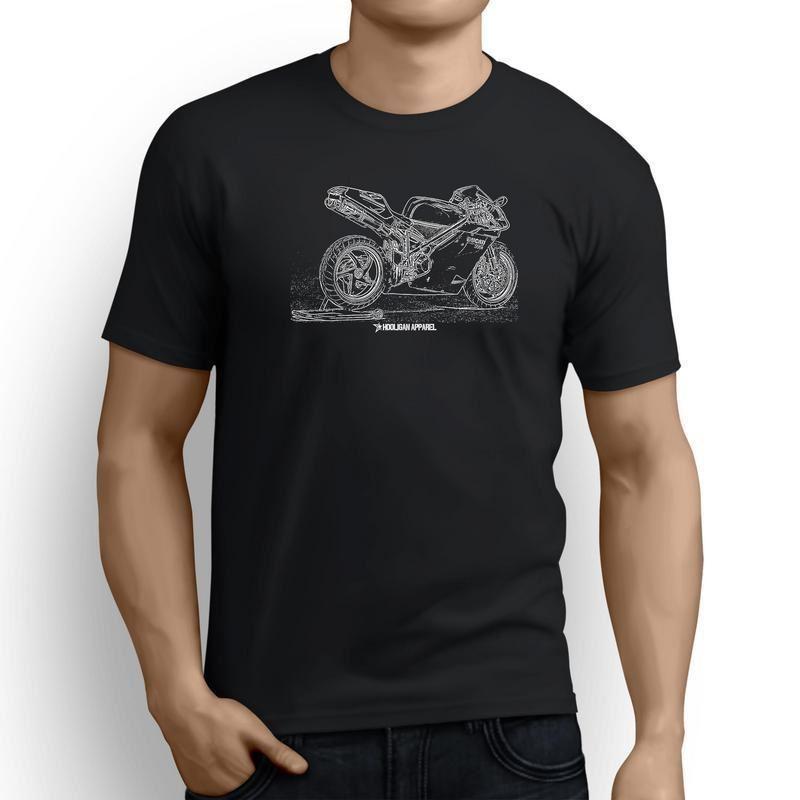 Ducati 996R Inspired Motorcycle Art Camiseta hombre