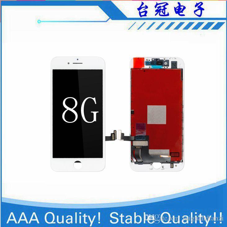 Pantalla LCD 100% original para iPhone 8g Pantalla LCD de reemplazo Pantalla IPS Pantalla táctil Calidad iphone 8 LCD