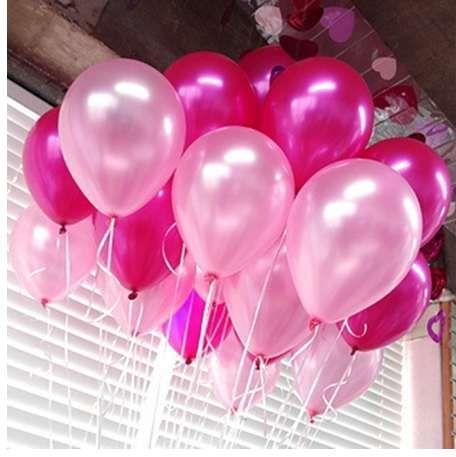 10 قطعة / الوحدة 10 بوصة روز بيرل بالونات اللاتكس 21 ألوان نفخ الهواء جولة كرات الزفاف بالونات حزب الديكور عيد سعيد
