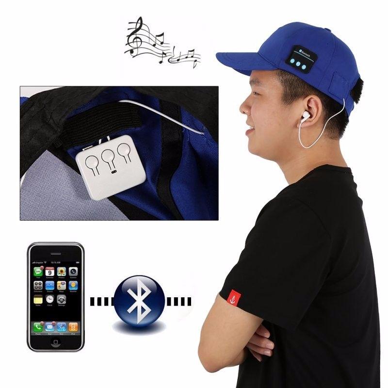 Wireless Unisex Sport Bluetooth Music Hat Cap Headphones Earphones Bluetooth Baseball Hat apply for samsung htc