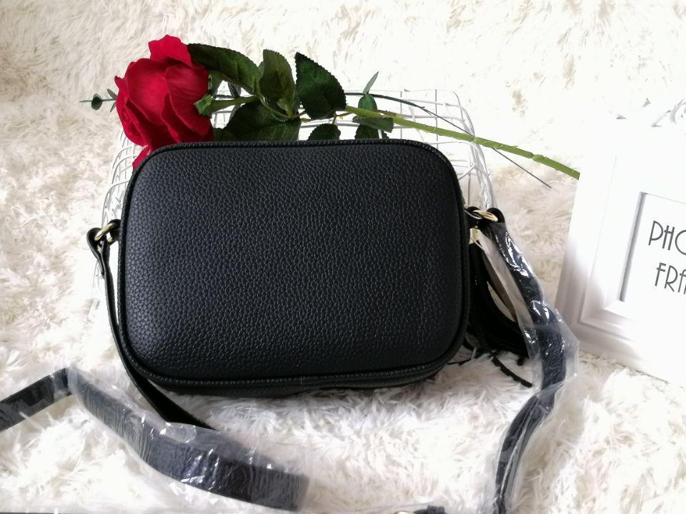 2018 Brand luxury Women Leather Soho Bag Disco Shoulder Bag Purse #1734
