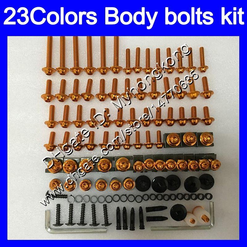 Обтекательные болты полный винтовой комплект для Kawasaki ZX10R 06 07 ZX 10R ZX 10 R 06-07 ZX-10R 2006 2007 06 Body гайки винты гайки набор болтов 25 цветов