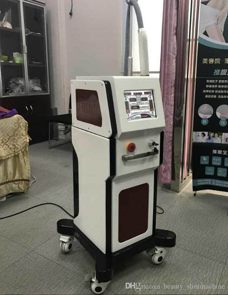 High Quality !!! Portable Pico Laser Q Switch ND YAG Laser Removal Scars Tattoo Remove Picosecond Machine Equipment With 5 Probes CE/DHL