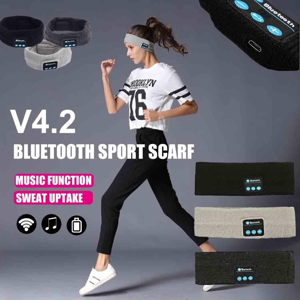 3styles Bluetooth Knitting Music Headband Caps Wireless Bluetooth Earphone hairband Headphone Running Yoga music Sports Earpiece FFA1137