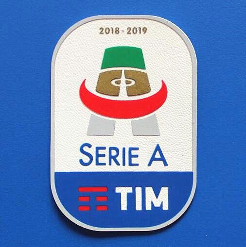 2018/2019 Italiano Serie A Football League remendo Soccer Patch Itália Soccer Badge atacado Frete grátis!