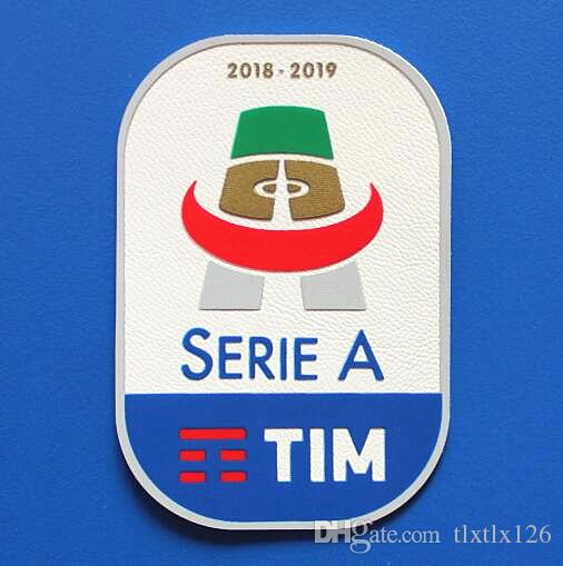 2018/2019 Italian Serie A Football League patch Soccer Patch Italy Soccer Badge wholesale Free shipping!