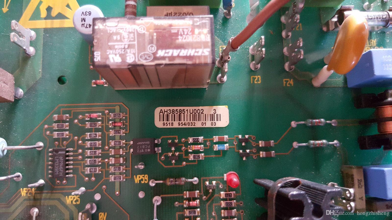 1 используемая доска AH385851U002 электропитания конвертера DC Eurotherm в хорошем состоянии