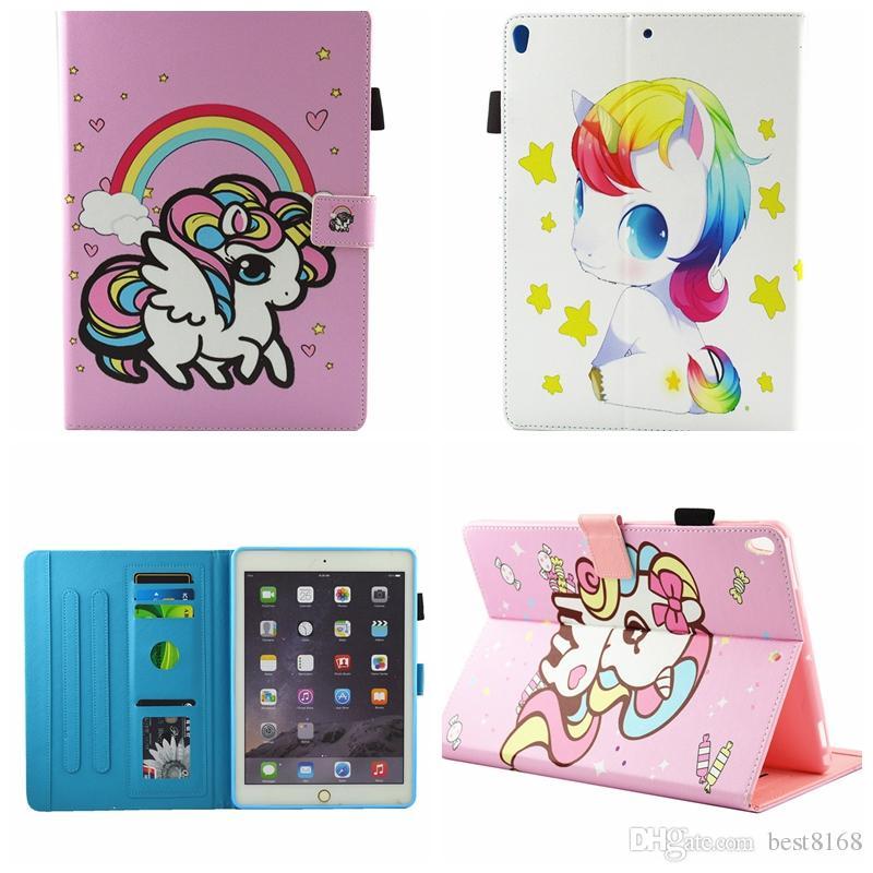 IPad case yoga iPad unicorn case Cute