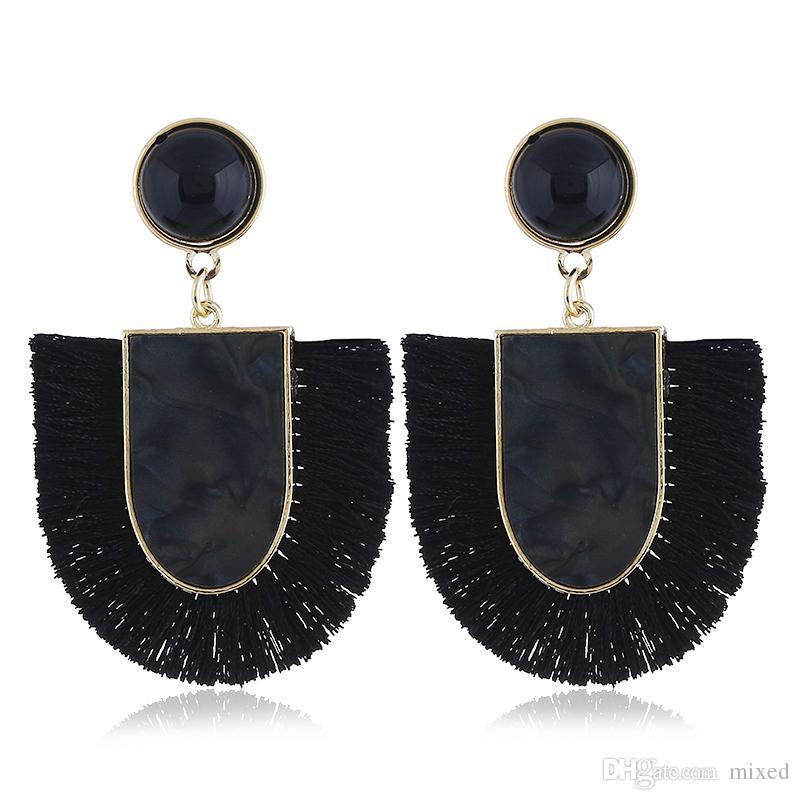 Fashion Dangle Vintage Boucles D/'oreilles Pour Femmes Bijoux Lumineux Tassel Boucles d/'oreilles