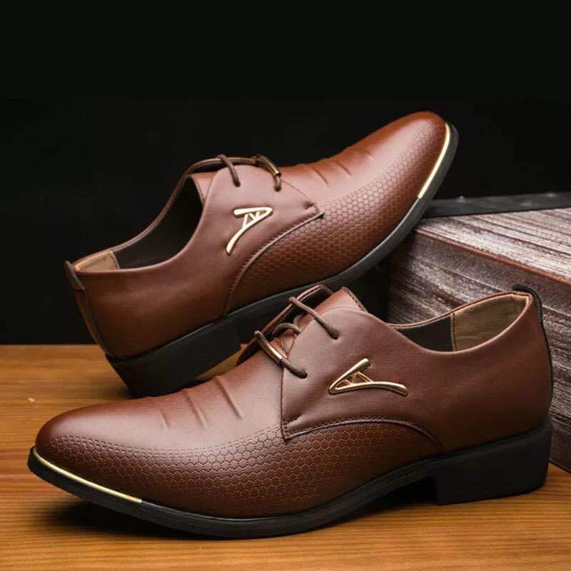 Chaussures de sport pour hommes imprimées en cuir tissé chaussures de luxe robe Boss Pointed Toe en cuir véritable noir mariage chaussures formelles