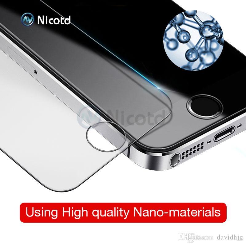 Закаленное стекло для iPhone 8 plus защитная пленка для iPhone 7 Plus стекло для iPhone X SE 5 5S жесткая защита стеклянная крышка