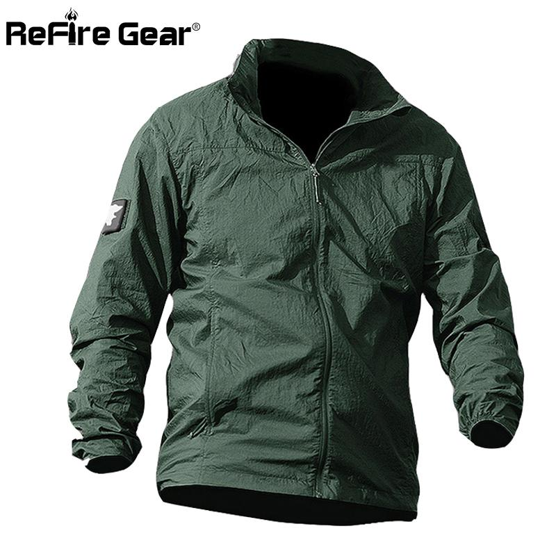 Summer Waterproof Quick Dry Tactical Skin Jacket Men UPF 50+ Breathable Hooded Raincoat Windbreaker Thin Army Military Jackets S914