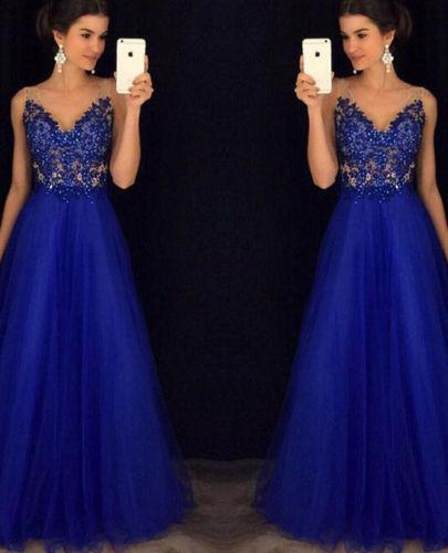Вечерние Платья Сетки V Шеи С Плеча Платье Бальное Платье Платье