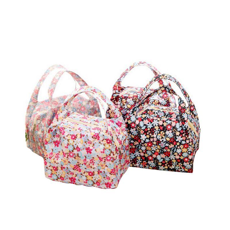 Красочная водонепроницаемая сумка для пикника Толстая изоляционная сумка для завтрака