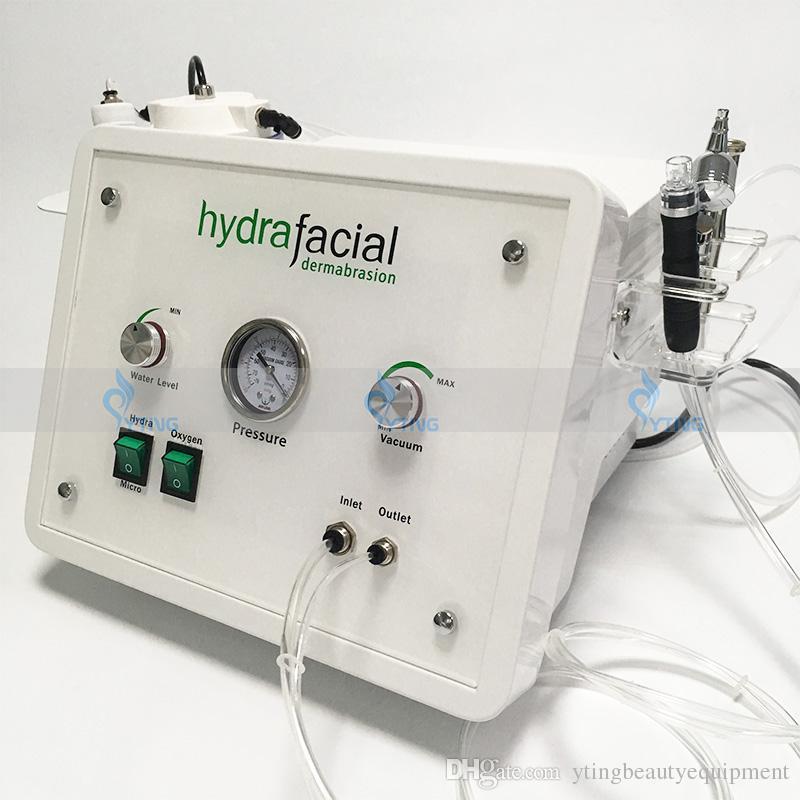 3in1 tragbare Diamant Mikrodermabrasion Schönheit Maschine Sauerstoff Hautpflege Wasser Aqua Dermabrasion Peeling hydrafacial SPA Ausrüstung