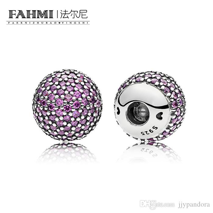 FAHMI 100% 925 Sterling Silver 1:1 Original Accessories 796481CFP Charm Authentic Temperament Fashion Glamour Retro Wedding Women Jewelry