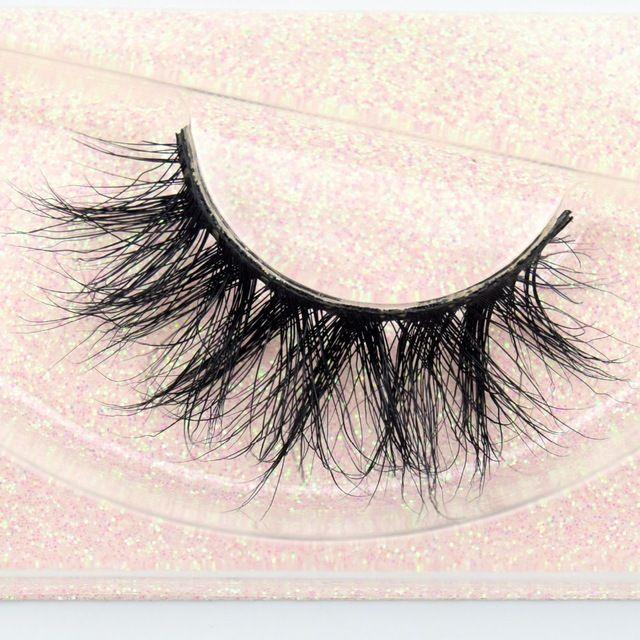 Kosmetische Augen Schönheit Werkzeuge Nerz Wimpernverlängerung Private Label Streifen Wimpern 3D Nerz Wimpern Wimpern E11