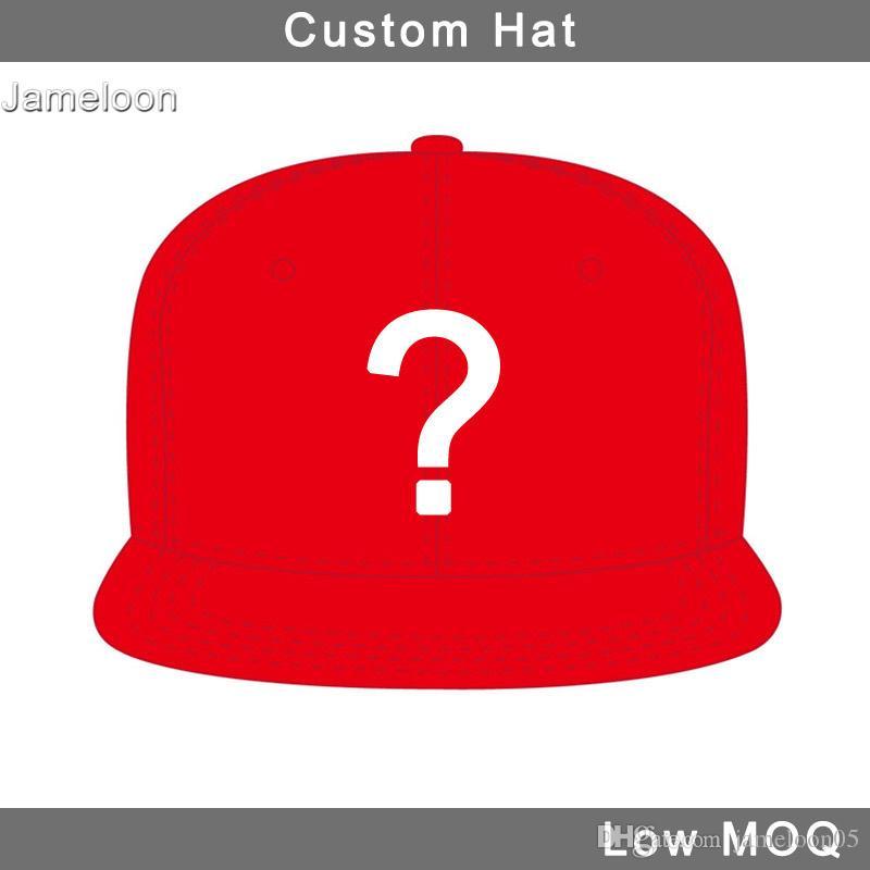 Düz vizör 3D nakış tasarım basketbol özel hiphop futbol tenis beyzbol spor kap özel şapka küçük MOQ