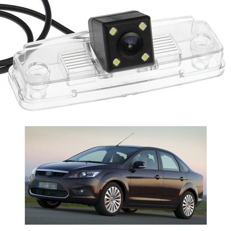 포드 포커스 세단 2009 MK2의 새로운 4 LED 자동차 후면보기 카메라 역방향 백업 CCD 적합