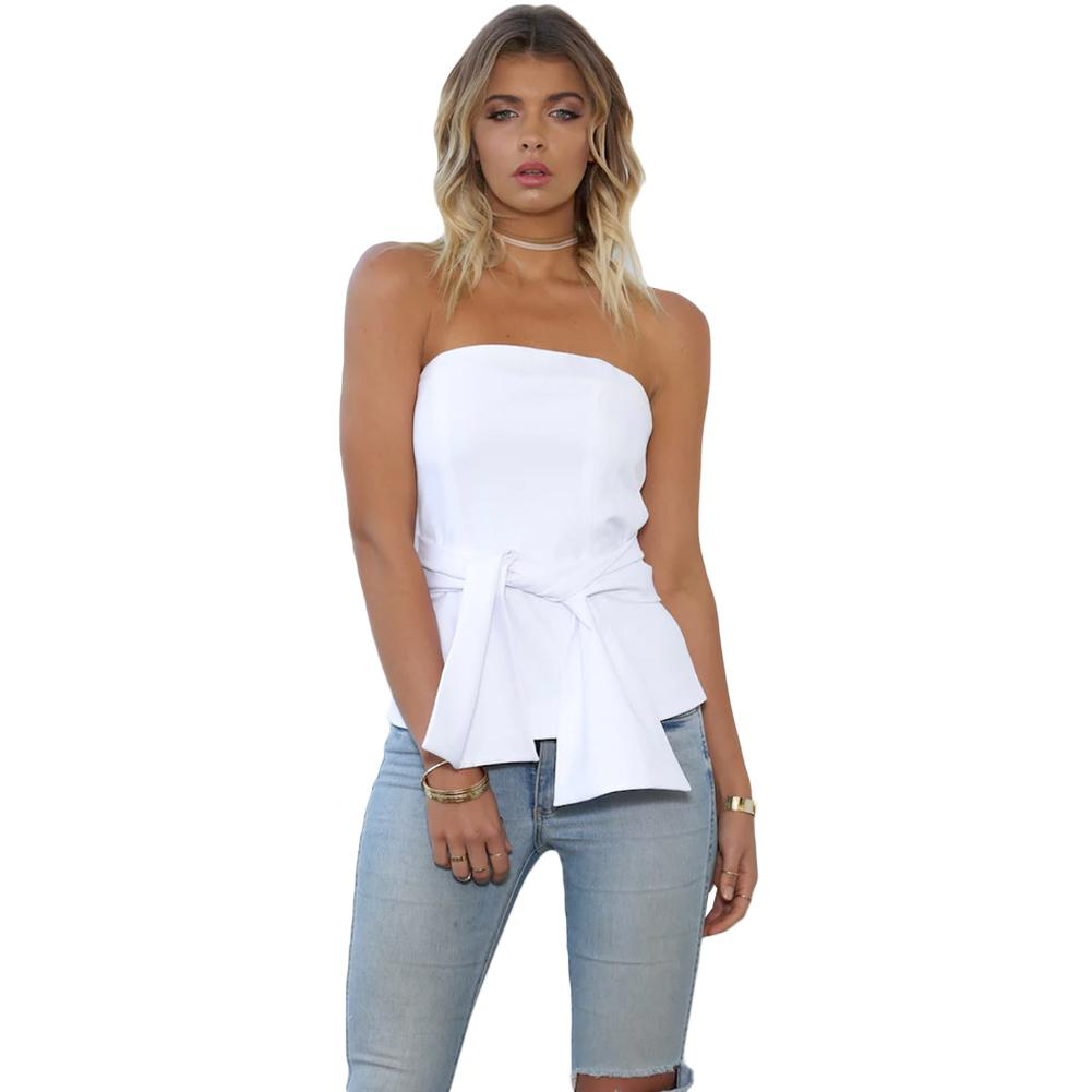 2017 Elegant Ropa Whiteblack 2019 Xl Mujer Bustier Top Bralette Casual Sexy Camisole Women Strapless Tank Clubwear From Modeng07amp;price; Party eWDH2IYbE9