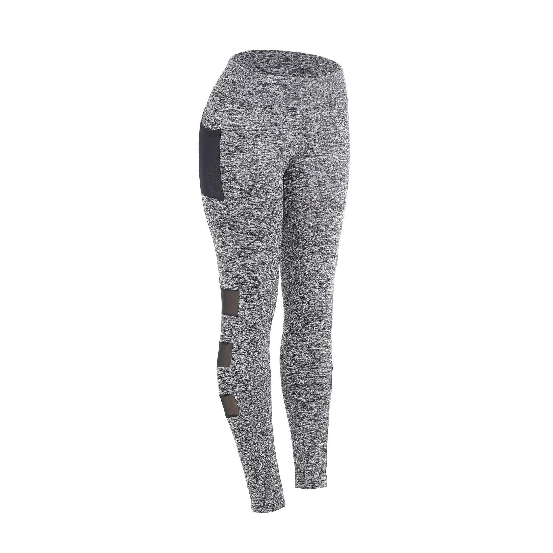 New Colour-impact Yoga Pants, Breathable and Quick-drying Milk Silk Sports Pants in Europe and America, Tight Sports Elastic Ladies Yoga Pan