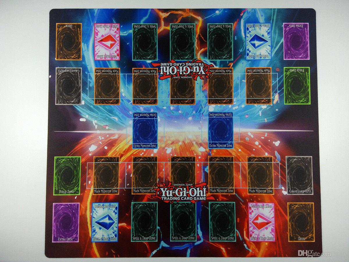 YGO YuGiOh TCG New Player Play Mat Playmat NEW Helps Learn to Play