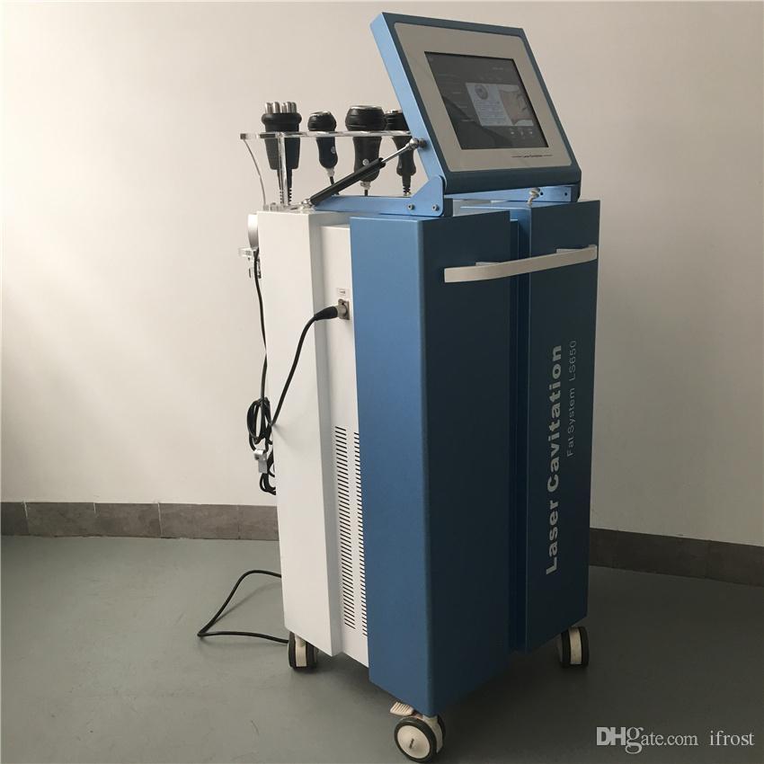 Venta caliente de alta calidad profesional superventas sistema de grasa de cavitación láser LS650 / cavi lipo láser que adelgaza la máquina