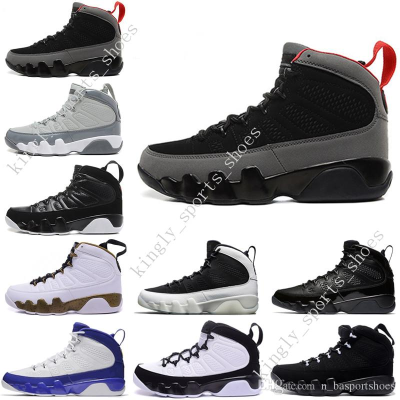 Дешевые новые 9 мужчин баскетбольная обувь OG space Jam прохладный серый антрацит бароны дух doernbecher 2010 релиз тур синий PE спортивные кроссовки