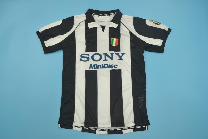 maillot sport série 1997-1998 A ZIDANE DEL PIERO Maillot rétro en jersey rétro Alessio Tacchinardi Padovano.