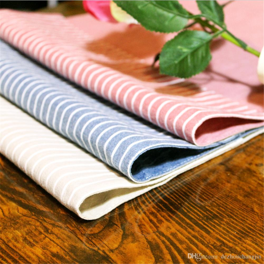 Printing Napkins Super-Absorbent Cotton Wedding Napkin Tea Towel Glass Concise Cloth30*40cm