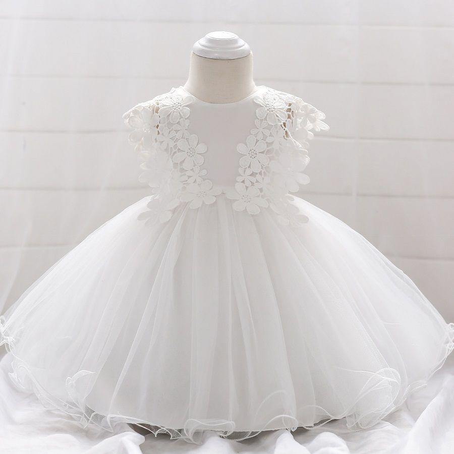 Compre Vestido De Bautismo Para Niña Pequeña Disfraces De Navidad Vestido De Bautizo Para Niña De 1 Año Regalo De Cumpleaños Para Niño Vestidos De