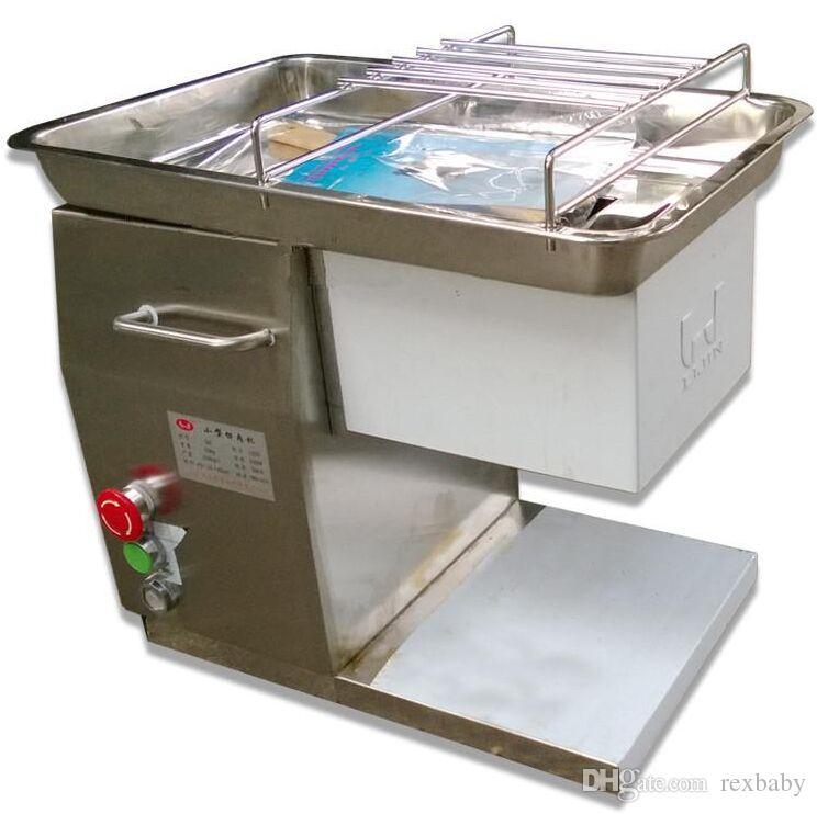 Heißer Verkauf 110/220 / 240V QH Fleisch Slicer, QH Fleisch Schneidemaschine, Fleischschneider, weit verbreitet im Restaurant NEW