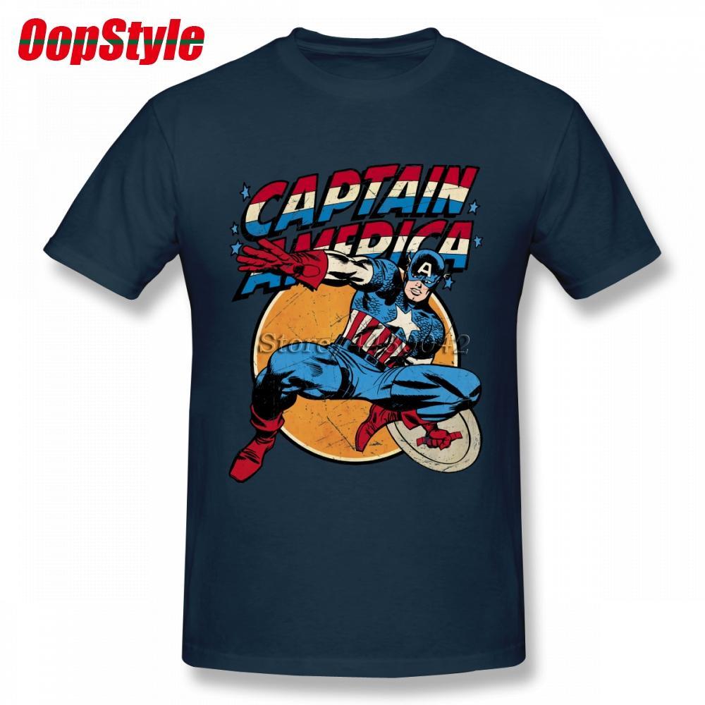 T-shirt Vintage T-shirt pour hommes pour hommes à manches courtes en coton personnalisé