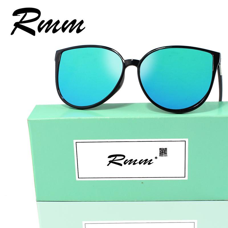 2018 RMM мода Cat Eye Солнцезащитные очки женщин Европейские солнцезащитные очки красочные марки горячей продажи для дам очки с коробкой