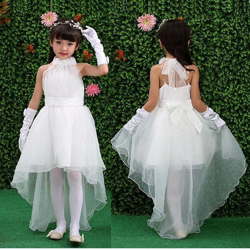 Lovely Flower Girl Dresses Pincess Pageant Bambini Occasioni speciali Compleanno Prom Dress Prestazioni per la danza Kids Dress GHYTZ290