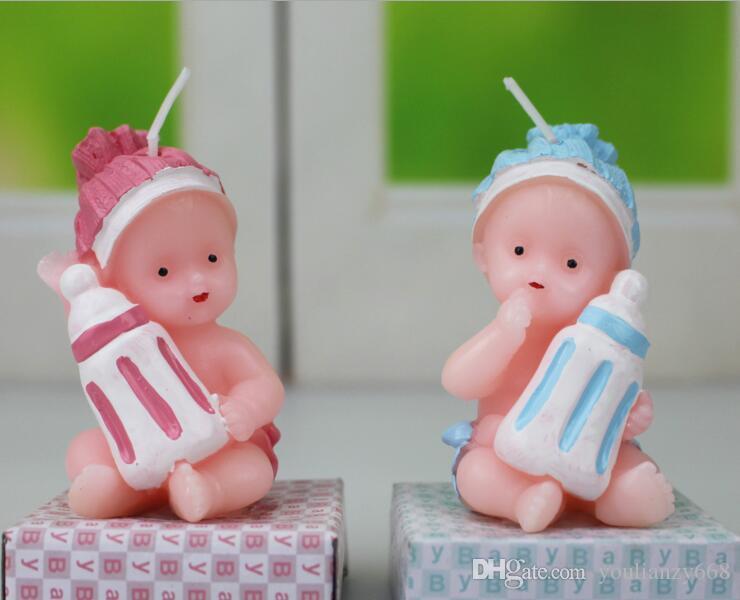 (10шт) оптом ангелочек день рождения украшения ремесло свечи