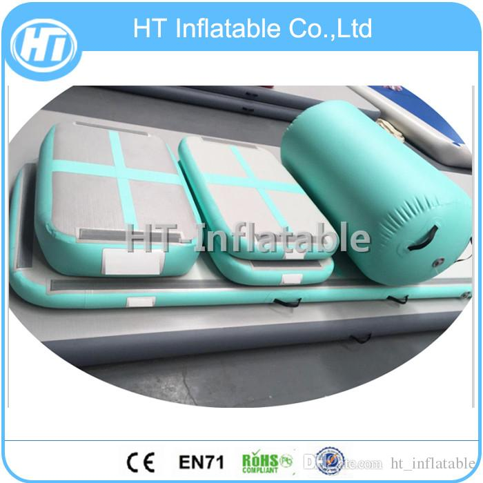 Free Shipping New Arrival AIRTRACK OEM Home Edition Inflatable Air Track Training Set Inflatable Air Board Airblock