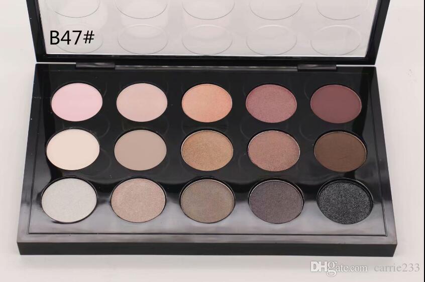 Spedizione gratuita 1pcs fabbrica diretta vendite di popolare Major New Brand Trucco 15 Color Eye Shadow Palette