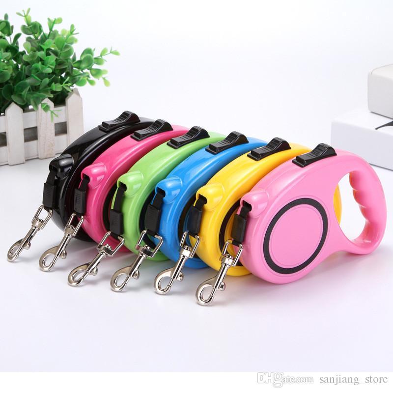 Автоматические выдвижные поводки, тяговая веревка, волшебный тросик для собак и кошек