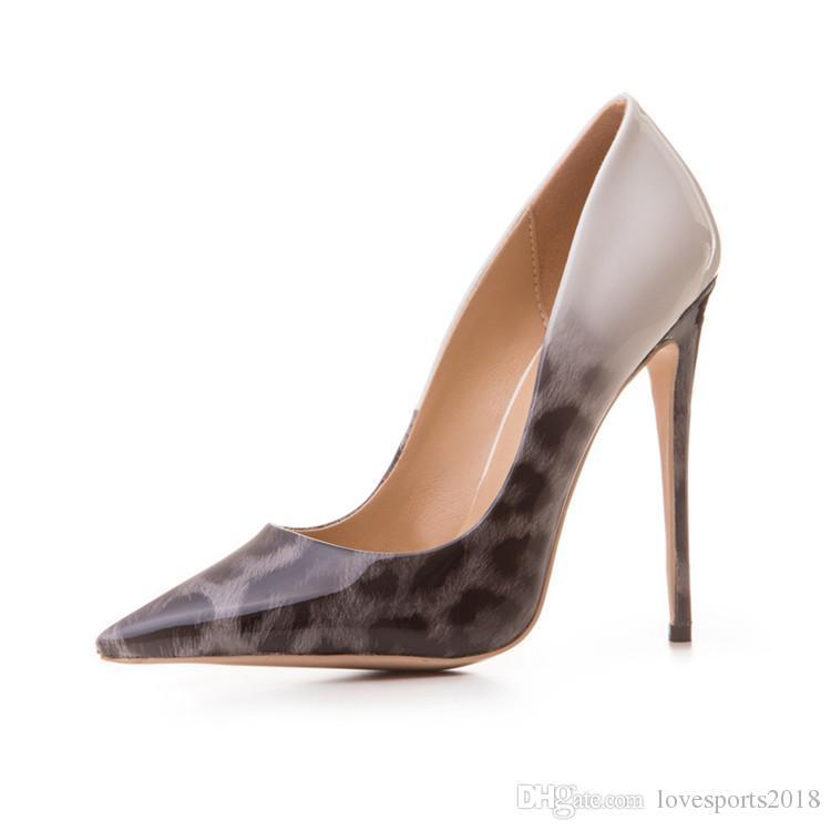 Designer Women Heel Shoes Sexy Leopard