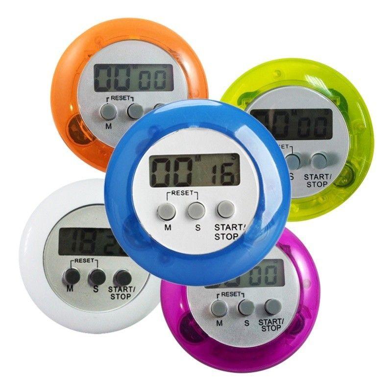 LCD Numérique Cuisine Minuteries Compte à rebours Back Stand Minuterie de cuisine Count Up Alarm Clock Cuisine Gadgets Outils de cuisson