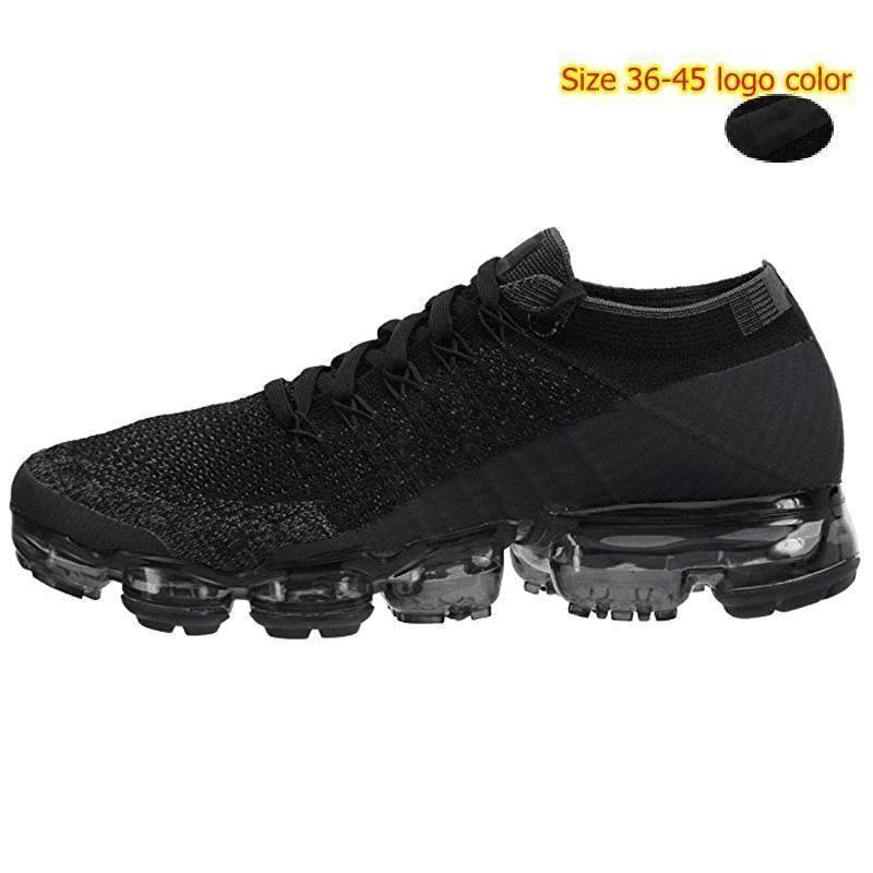 2018 Nike Air Max 2018 Airmax Vapormax NIKELAB Air Nuevas Llegadas Hombres Vapormax Shock Racer Running Shoes All Blanco Negro Rojo Gris Rojo Alta