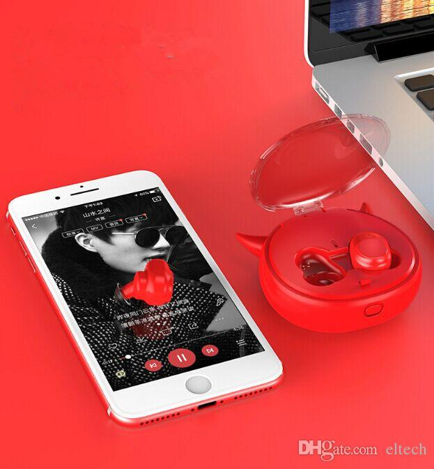 Mini Wireless Earphone IPX7 Waterproof Bluetooth tws Earphones Touch Control Hifi Wireless Earbuds Headset for phone