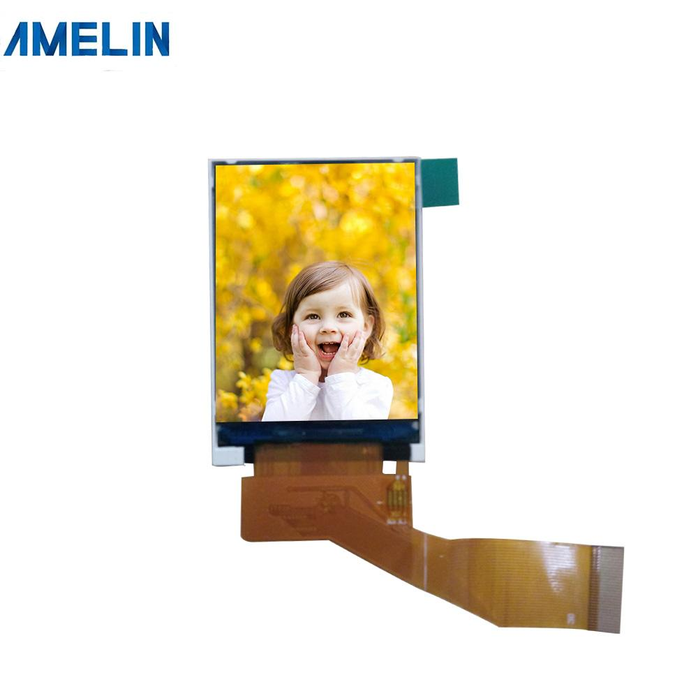 2 inch 240*320 tft lcd display with IPS viewing angle screen from shenzhen amelin panel manufacture