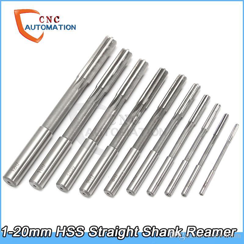 2-20mm HSS Straight Shank Milling Reamer D4 Countersink Chucking Reamer
