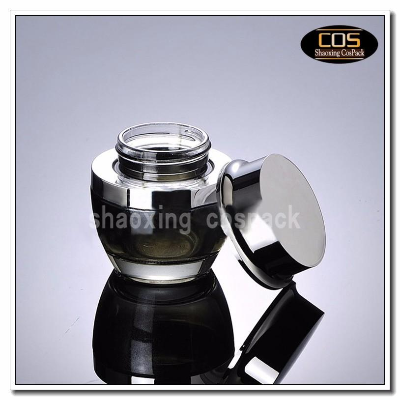 JGX40-50ml Glass Cream Container (2)