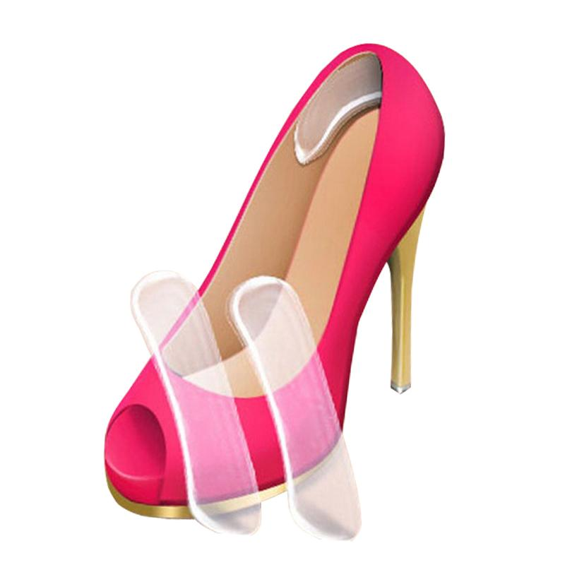 Silicone Heel pad sticker heel Protector heels pain Shoe Pads Cushion Liner Grips Back Heel Inserts Insoles