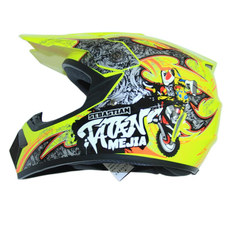 FREE SHIPPING motorcycle Adult child motocross Off Road Helmet ATV Dirt bike Downhill racing helmet cross capacetes