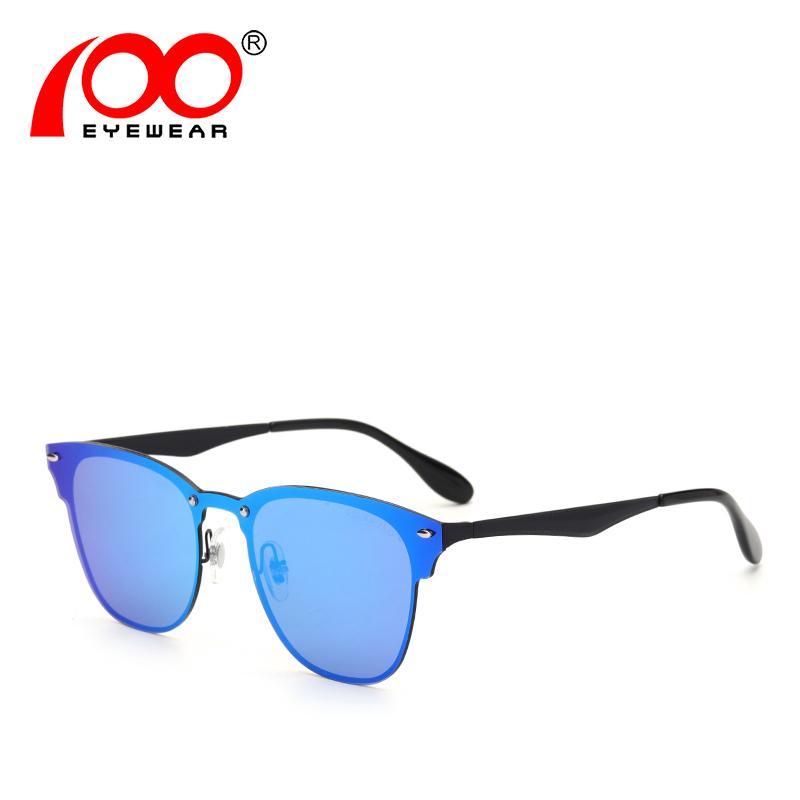 Männer Frauen polarisierte Sonnenbrille UV400 Ultra Marke trendy randlose Brille für den Antrieb # SG6076